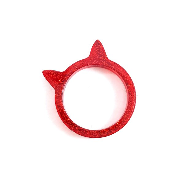 Kawaii Kitty Rings by Wilde Designs