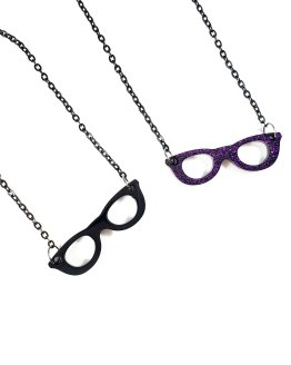 Geeks Who Wear Glasses Necklaces by Wilde Designs