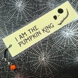 Pumpkin King Bookmark by Wilde Designs