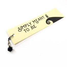 Simply Meant to Be Bookmark by Wilde Designs