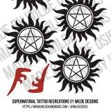 Supernatural Tattoos by Wilde Designs