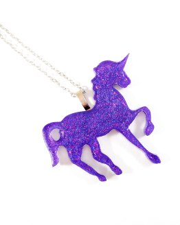 Prancing Unicorn Necklace by Wilde Designs