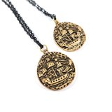 Pieces of Eight Necklace by Wilde Designs