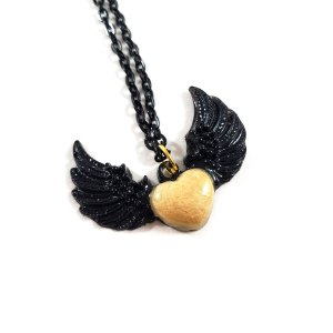 Wind Beneath My Wings Necklace by Wilde Designs
