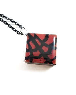 Lydia Tile Necklace by Wilde Designs