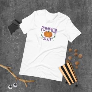 Pumpkin Slut T-Shirt by Wilde Designs