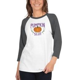 Pumpkin Slut raglan by Wilde Designs