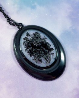 Garden of Roses Cameo Necklace by Wilde Designs