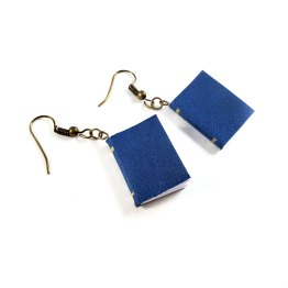 Write Your Own Story Book Earrings