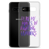 I Like My Males in Fighting Leathers Samsung Phone Case