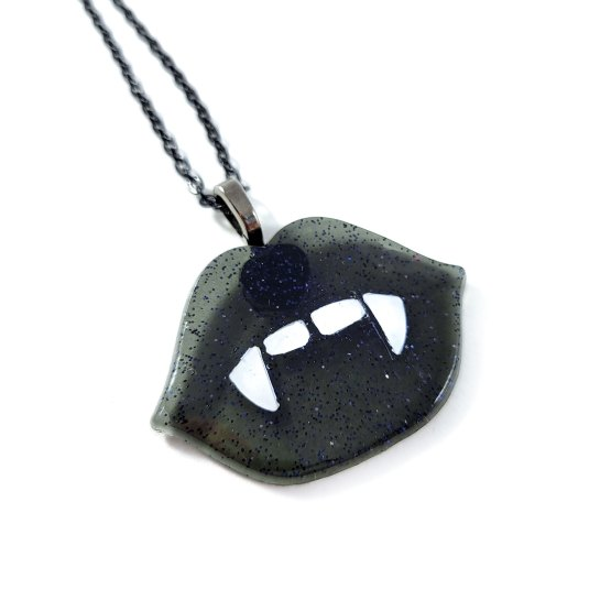 Show Me Your Teeth Necklace by Wilde Designs