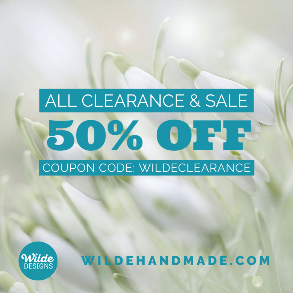 50% off Clearance Sale 2021