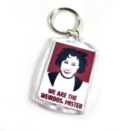We are the Weirdos Double Sided Keychain by Wilde Designs