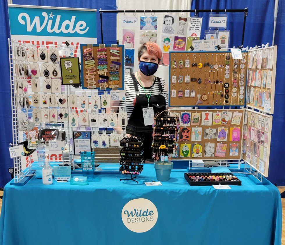 Wilde Designs at Hill Country Comicon 2021