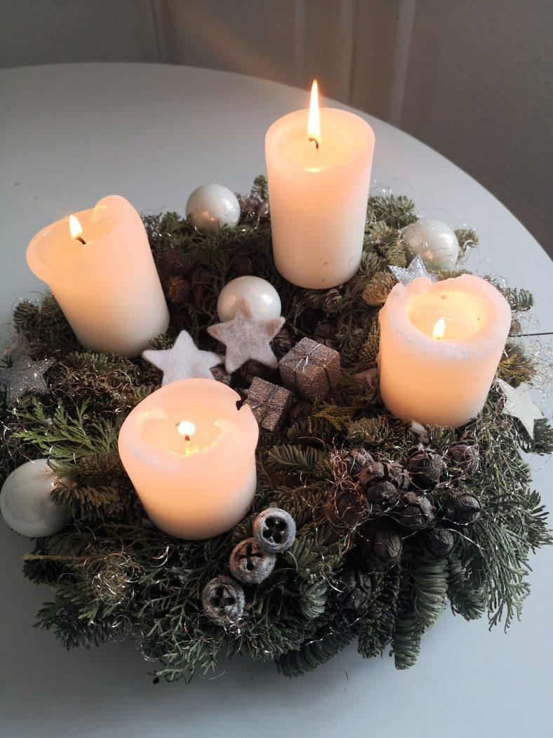 Die 4. Kerze brenn