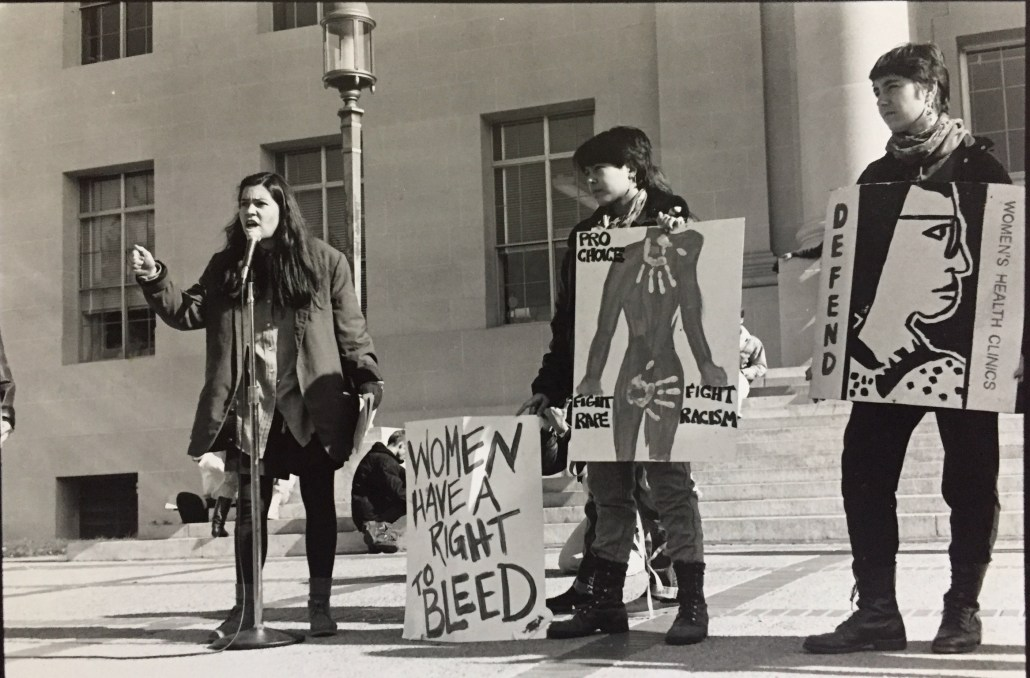 Rose with the UC Berkeley Women's Liberation Front