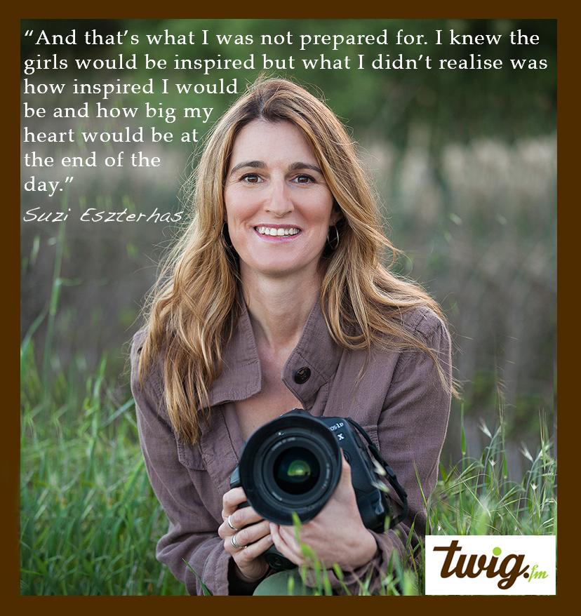Wildlife Photographer Suzi Eszterhas – Girls Who Click