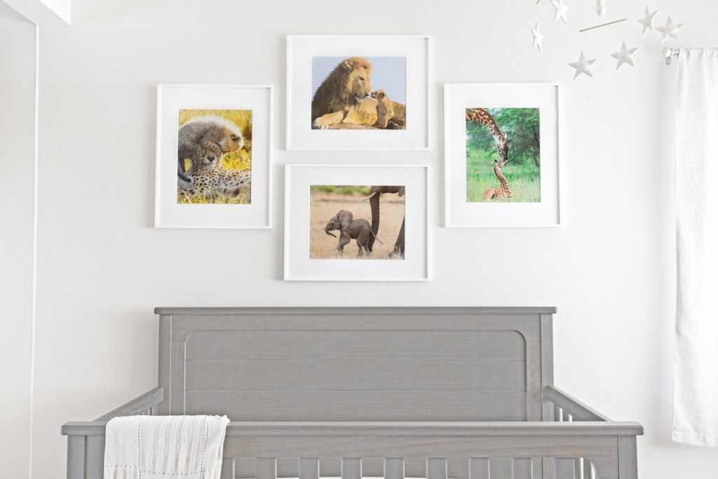children's prints wildlife