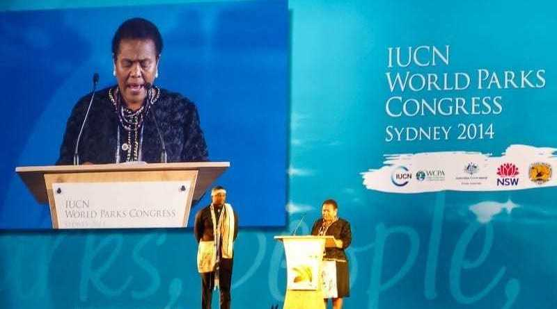 Just returned from the IUCN World Parks Congress in Sydney