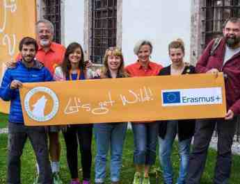 Erasmus education project on adult wilderness training