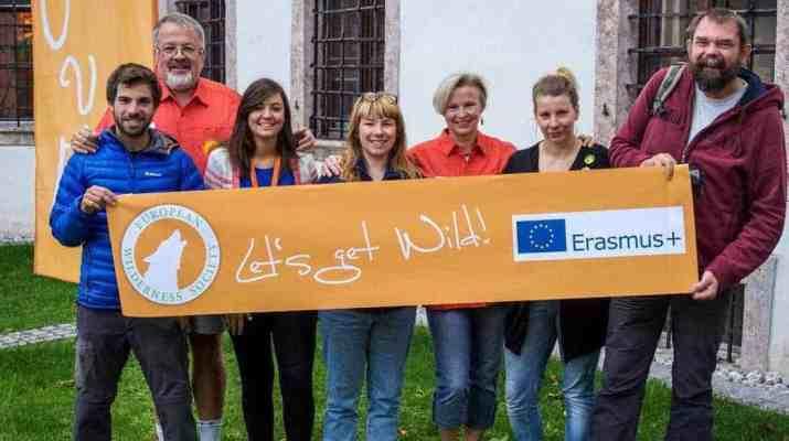Erasmus education project on adult wilderness training