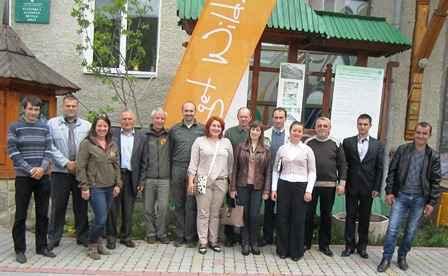 Nature Park Meeting in Carpathian