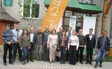 Nature Park Meeting in Carpathian