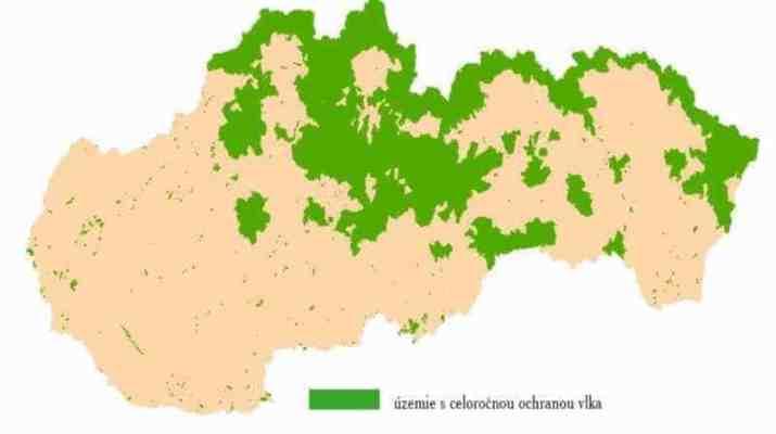 Enlarging no-hunting wolf zone in Slovakia