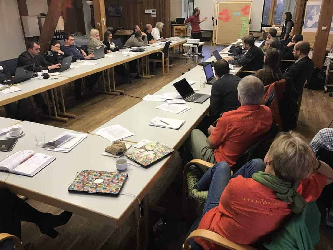 Beech Forest Network of Europe Workshop - update and new pics!