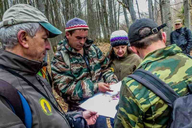 Locating Wilderness on a map during the Wilderness Exchange Programme