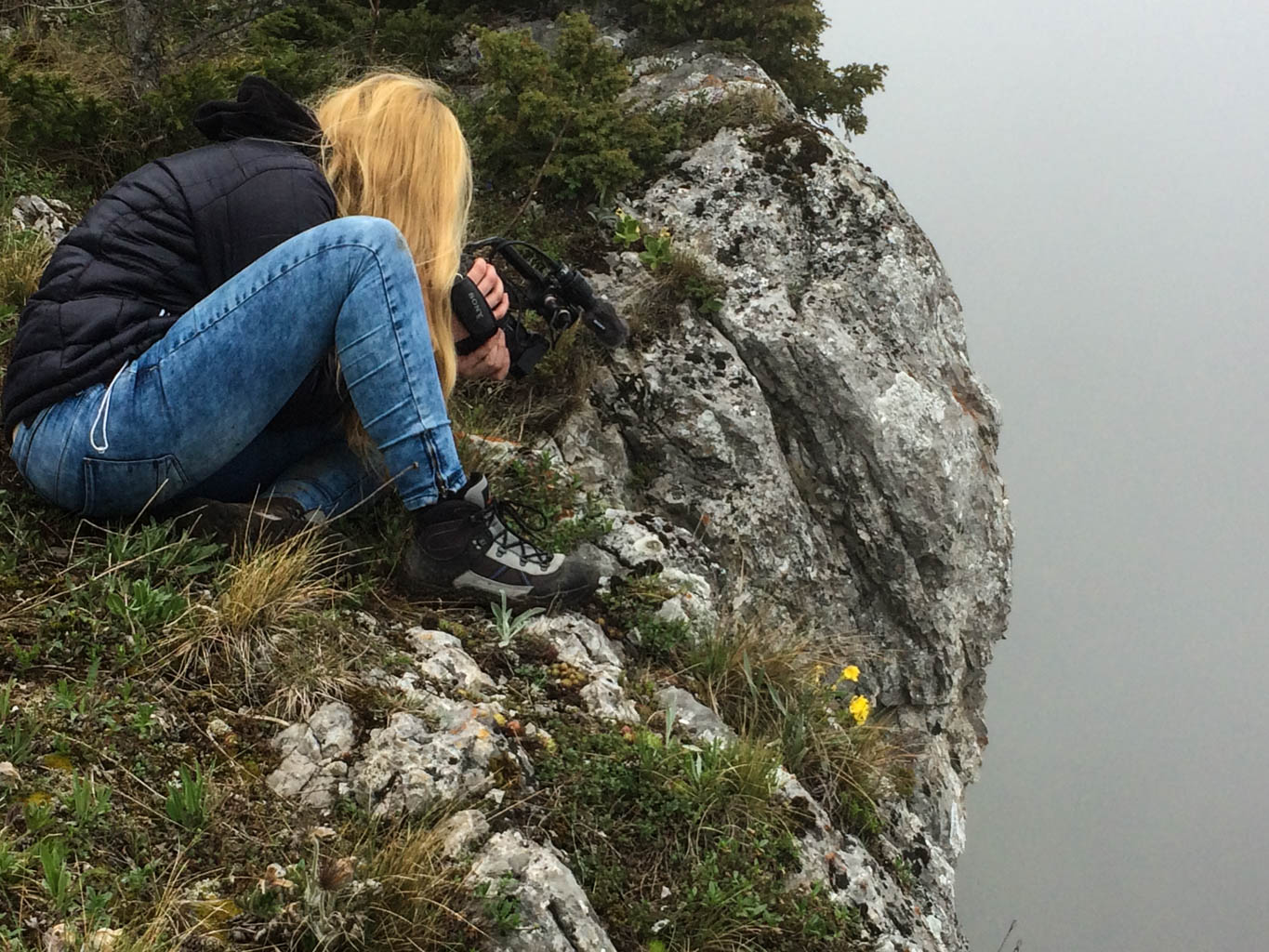 Dutch Film team in the Tatras, Slovakia © All rights reserved