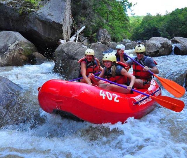 Upper Yough Rafting