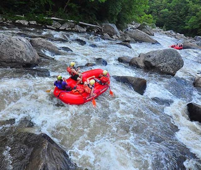 Upper Yough Rafting Heinzerling Rapid