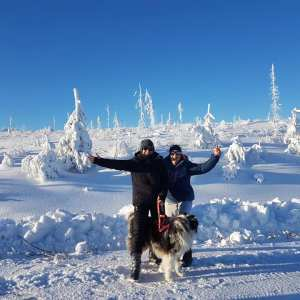 Guests Anet & Sietske were enjoying their winter adventure week in februari 2020