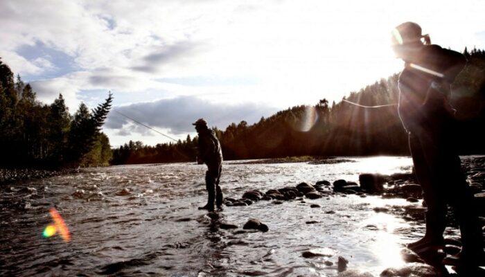 Flyfishing in the Ammerån