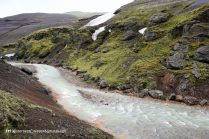 Ásgarðsá river gorge, Kerlingarfjöll, Kjölur road, Iceland