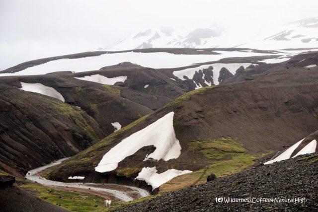 Ásgarðsgljúfur river gorge, Kerlingarfjöll, Iceland