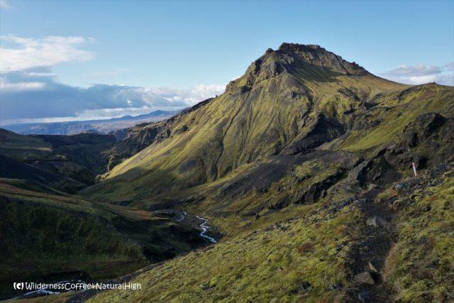 Hvannárgil canyon and Útigönguhöfði, hiking trail, Þórsmörk, Iceland