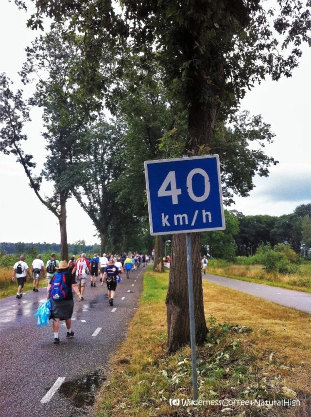 Vierdaagse, 40 kilometres, The Netherlands