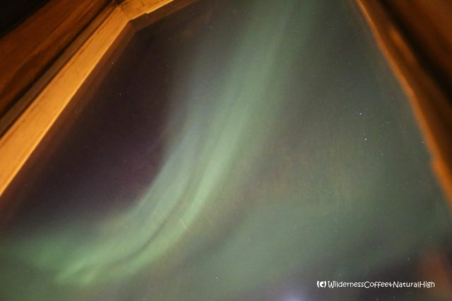 Northern light pollution, Stykkishólmur, Snæfellsnes, Iceland