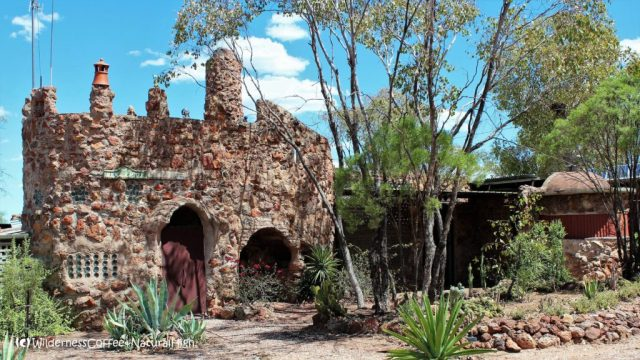 Amigos Castle, quirky work of art, Lightning Ridge, New South Wales, Australia