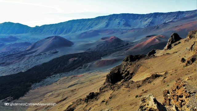 Craters and cinder cones, Mount Haleakala, Maui, Hawaii