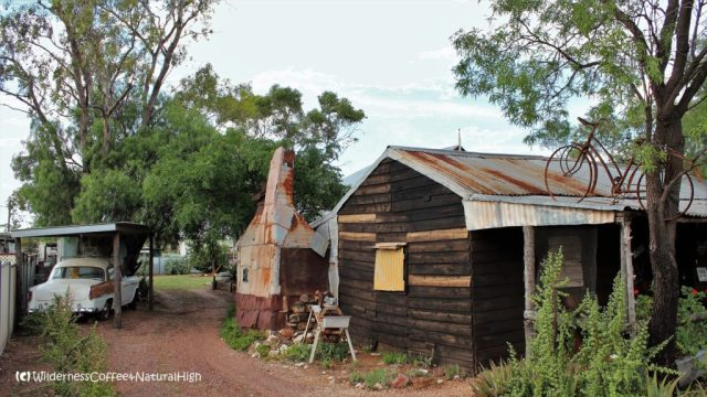 Homemade structures, Lightning Ridge, New South Wales, Australia