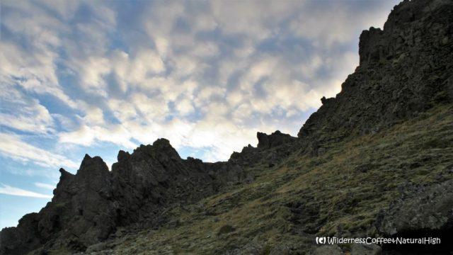 Útigönguhöfði mountain, Fimmvörðuháls walking route, Thórsmörk hiking trail, Þórsmörk, Iceland