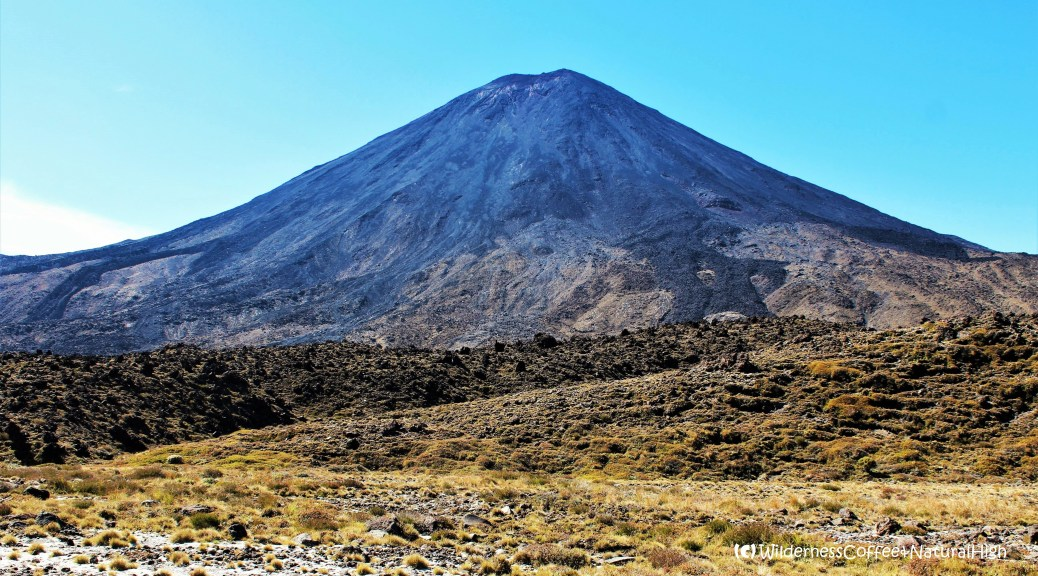 Mount Nhauruhoe, Lord of the Rings, Tongariro National Park, North Island, New Zealand
