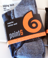 Review of Point 6 Wool Socks