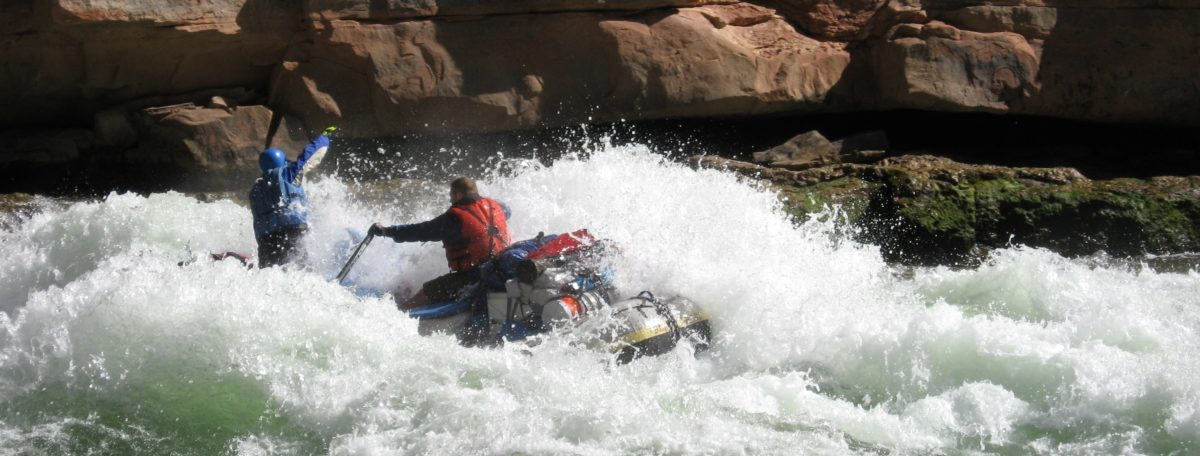 Great whitewater shot on the Colorado River