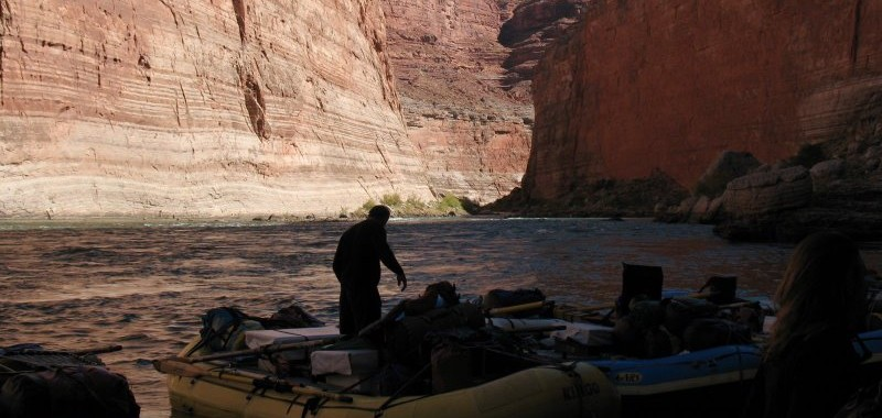Early morning on the Colorado River