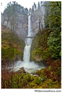 Winter in Oregon - Multnomah Falls