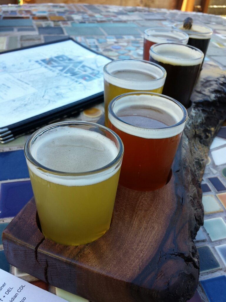 Tastings at Base Camp Brewery